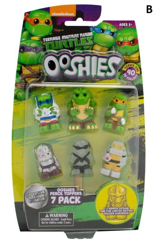 Teenage Mutant Ninja Turtle Ooshies Series 2 7 Pack figures Choose from 4