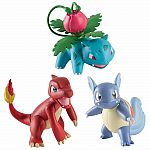 3 Pack of Pokemon - Ivysaur, Charmeleon & Wartortle
