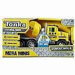 Tonka Mega Minis Cement Mixer With Lights and Sounds