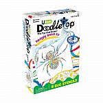 Doodletop Squiggly Stencil Kit - Bugs