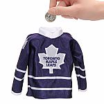 Toronto Maple Leafs Mini Jersey Coin Bank
