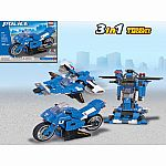 Racing Motorcycle 3-in-1 - Brictek