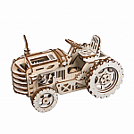 Wooden Mechanical Gears Tractor