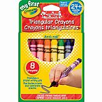 Triangular Crayons