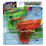 Flood Force Triton Water Pistols - 2 Pack