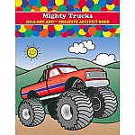 Mighty Trucks - Do A Dot Art! Creative Activity Book