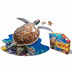 I Am Lil' Sea Turtle - Madd Capp Puzzle Jr.