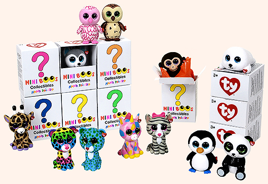 Mini Boos Collectibles Blind Box Toy Sense