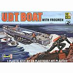 1:35 U.D.T Boat with Frogmen