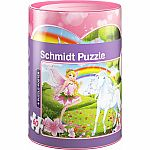 Fairy & Unicorn Puzzle/Coin Bank