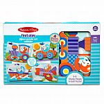 First Play Vehicles Jigsaw Puzzle Set