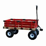 Wagon with Red Racks