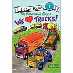 We Love Trucks - Berenstain Bears