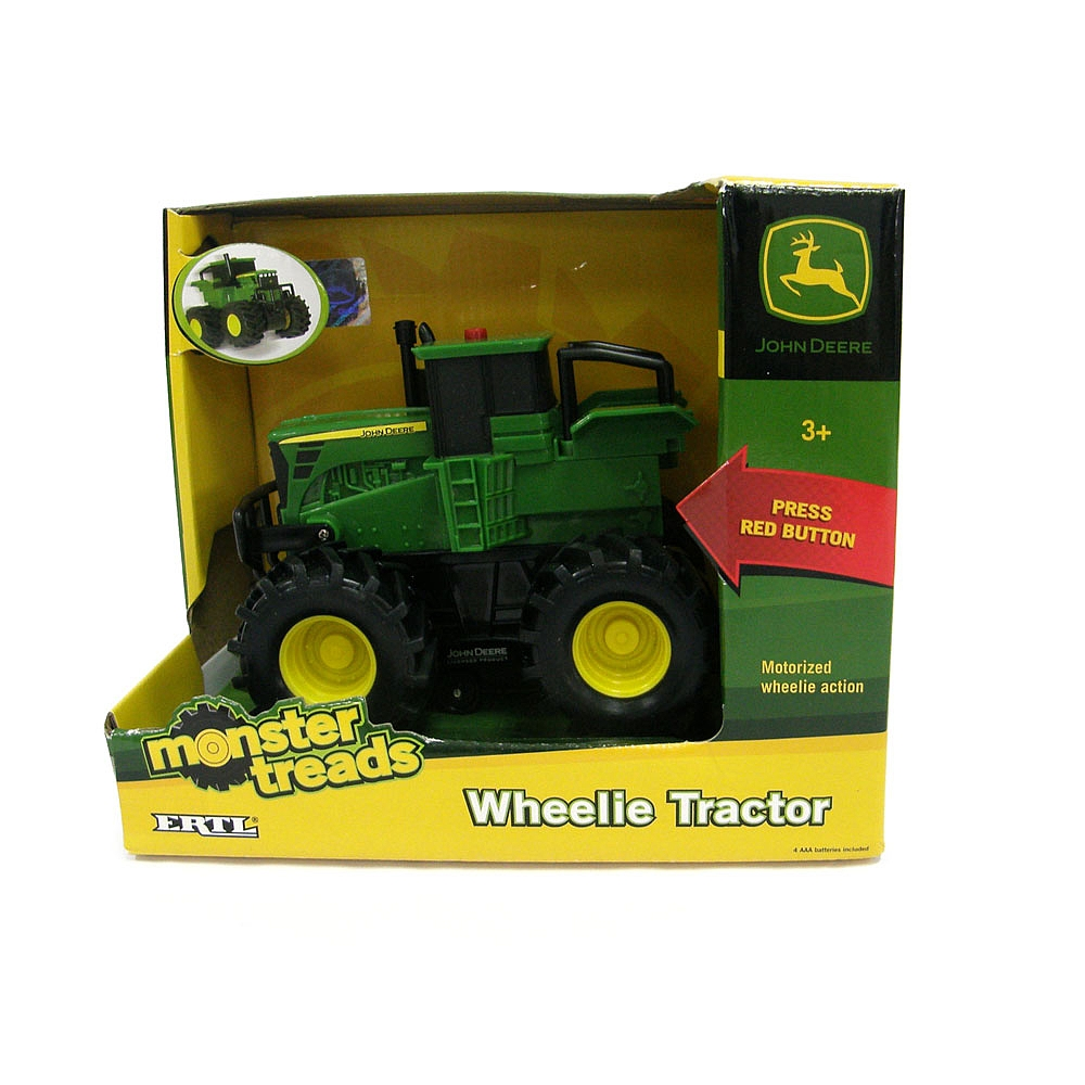 John Deere Wheelie Monster Treads (assorted) - Toy Sense