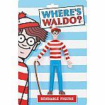 Where's Waldo? Bendable Toy Figure