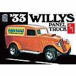 1933 Willys Panel Truck 1:25