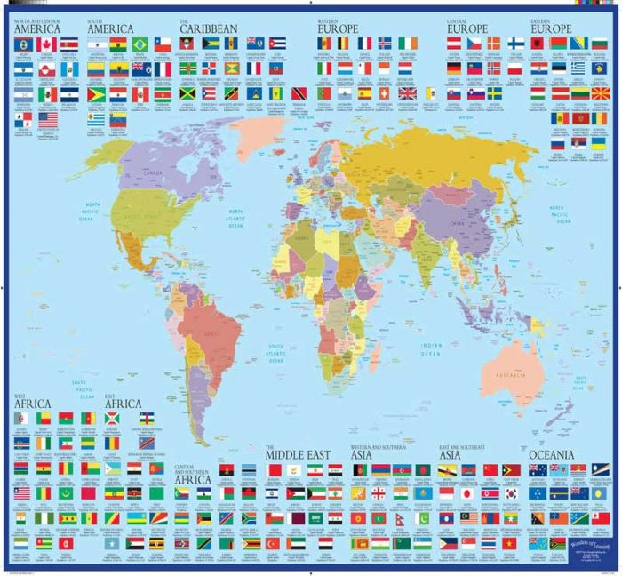 Wonders Of Learning Educational Wall Chart Discover World Map