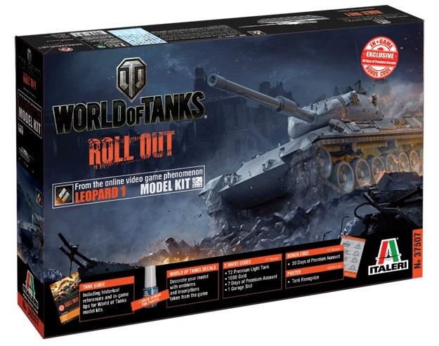 World of Tanks - Leopard 1 Model Kit 1:35 - Toy Sense