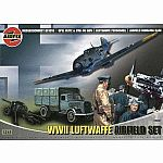 1/72 WWII Luftwaffe Airfield Set