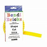 Bendi Bricks Single Roll - Yellow