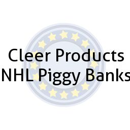 Cleer Products NHL Piggy Banks
